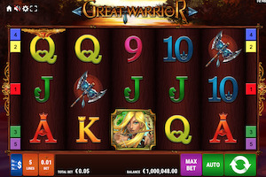 Great Warrior Slot Machine