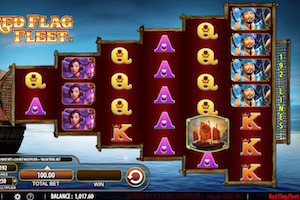Red Flag Fleet Slot Machine