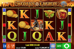 Roman Legion : Golden Nights Slot Machine